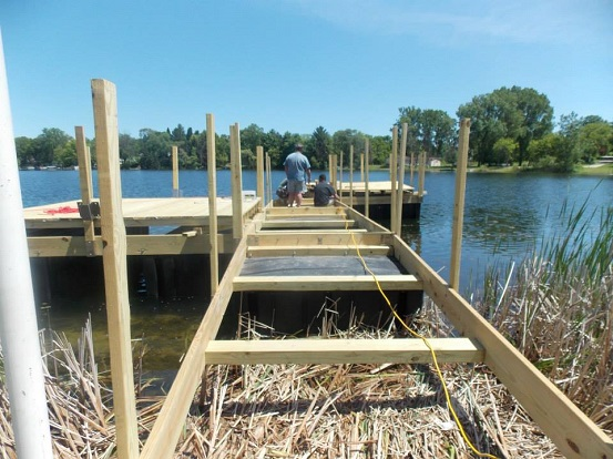Dock Construction - 2013